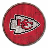 "Kansas City Chiefs Cracked Color 24"" Barrel Top"