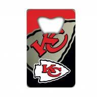 Kansas City Chiefs Credit Card Style Bottle Opener
