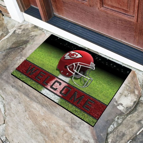 Kansas City Chiefs Crumb Rubber Door Mat