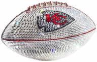 Kansas City Chiefs Swarovski Crystal Football