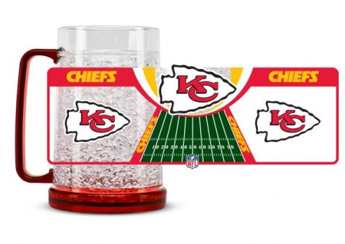 Kansas City Chiefs Crystal Freezer Mug