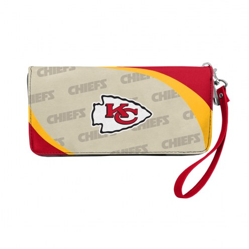 Kansas City Chiefs Curve Zip Organizer Wallet