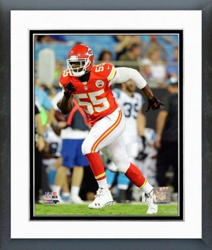 Kansas City Chiefs Dee Ford Action Framed Photo