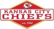 Kansas City Chiefs Diamond Panel Metal Sign