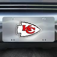 Kansas City Chiefs Diecast License Plate
