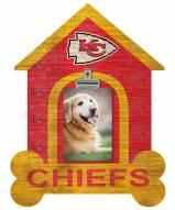 Kansas City Chiefs Dog Bone House Clip Frame