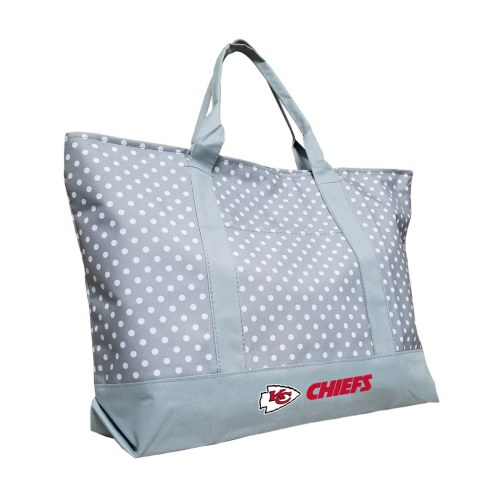 Kansas City Chiefs Dot Tote Bag