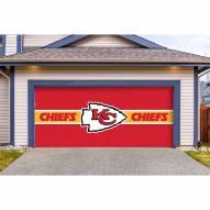 Kansas City Chiefs Double Garage Door Cover