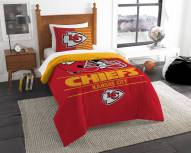 Kansas City Chiefs Draft Twin Comforter Set