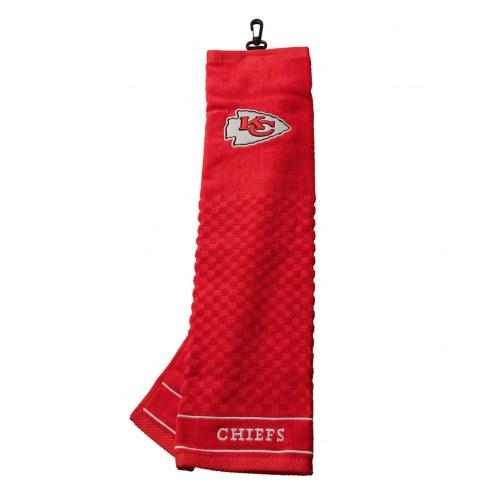 Kansas City Chiefs Embroidered Golf Towel