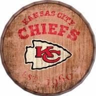 "Kansas City Chiefs Established Date 24"" Barrel Top"