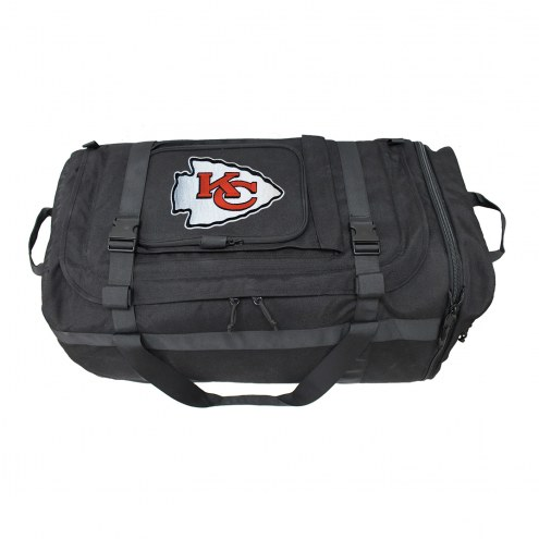 NFL Kansas City Chiefs Expandable Military Duffel
