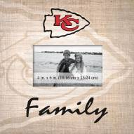 Kansas City Chiefs Family Picture Frame