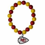 Kansas City Chiefs Fan Bead Bracelet