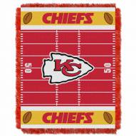 Kansas City Chiefs Field Baby Blanket