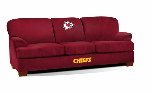 Kansas City Chiefs First Team Microfiber Sofa