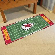 Kansas City Chiefs Football Field Runner Rug