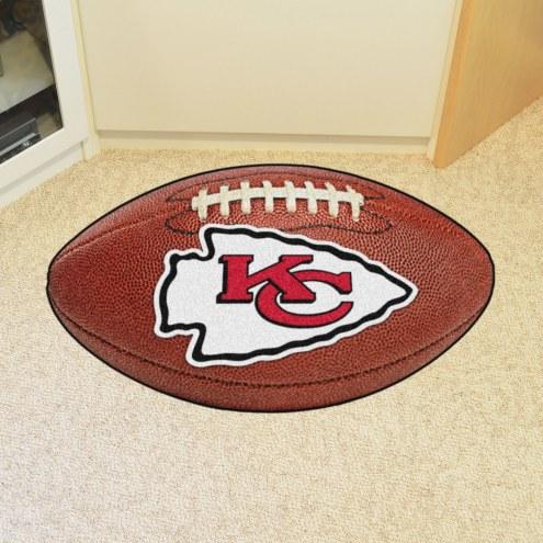 Kansas City Chiefs Football Floor Mat