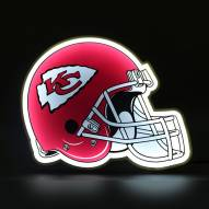 Kansas City Chiefs Football Helmet LED Lamp