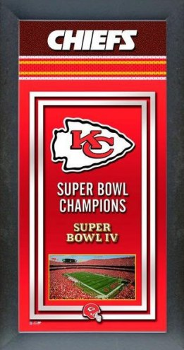 Kansas City Chiefs Framed Championship Print