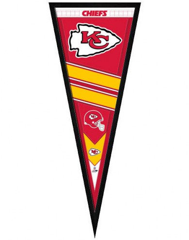 Kansas City Chiefs Framed Pennant