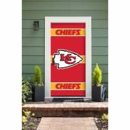 Kansas City Chiefs Front Door Cover