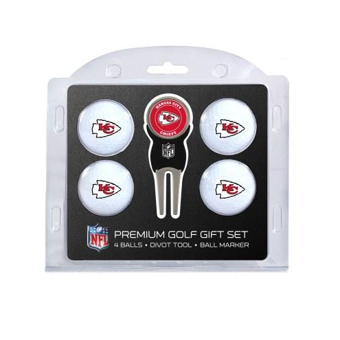 Kansas City Chiefs Golf Ball Gift Set