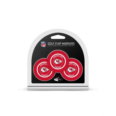 Kansas City Chiefs Golf Chip Ball Markers