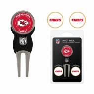 Kansas City Chiefs Golf Divot Tool Pack