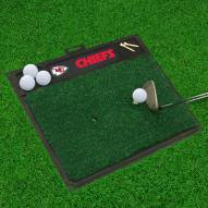 Kansas City Chiefs Golf Hitting Mat