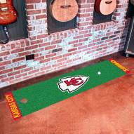 Kansas City Chiefs Golf Putting Green Mat