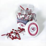 Kansas City Chiefs 175 Golf Tee Jar