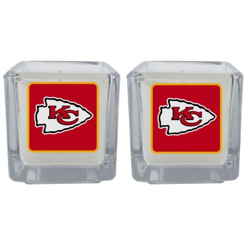 Kansas City Chiefs Graphics Candle Set