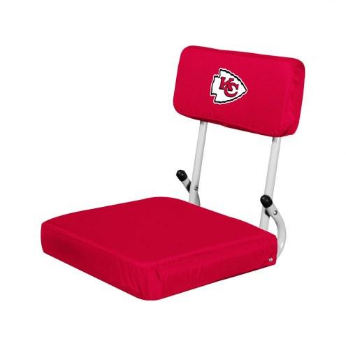Kansas City Chiefs Hardback Stadium Seat