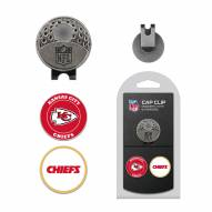 Kansas City Chiefs Hat Clip & Marker Set