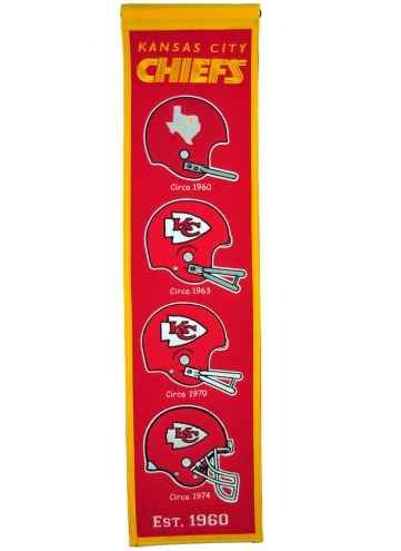 Kansas City Chiefs Heritage Banner