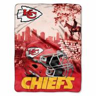 Kansas City Chiefs Heritage Silk Touch Blanket