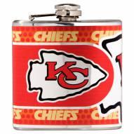 Kansas City Chiefs Hi-Def Stainless Steel Flask
