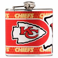 Kansas City Chiefs Hi-Def Stainless Steel Flask