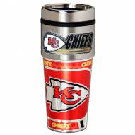 Kansas City Chiefs Hi-Def Travel Tumbler