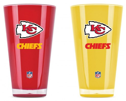 Kansas City Chiefs Home & Away Tumbler Set