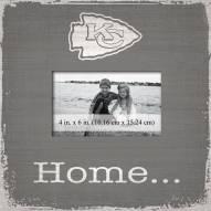 Kansas City Chiefs Home Picture Frame