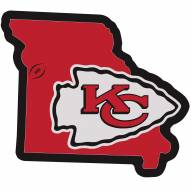 "Kansas City Chiefs Home State 11"""" Magnet"