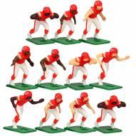 Kansas City Chiefs Home Uniform Action Figure Set