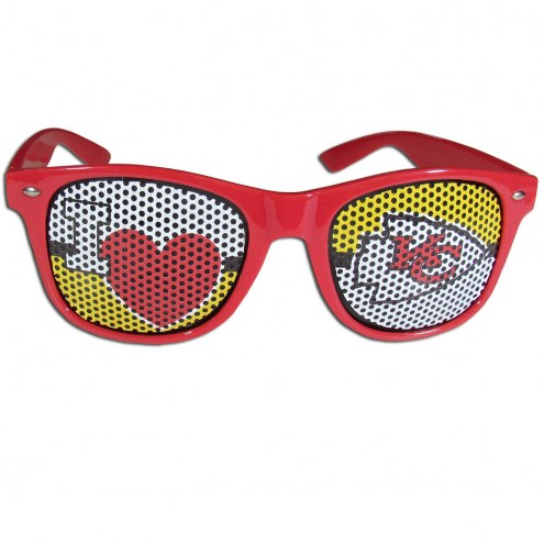 Kansas City Chiefs I Heart Game Day Shades