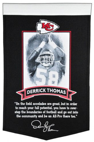 Kansas City Chiefs Derrick Thomas Icon Collection Banner