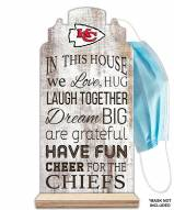 Kansas City Chiefs In This House Mask Holder