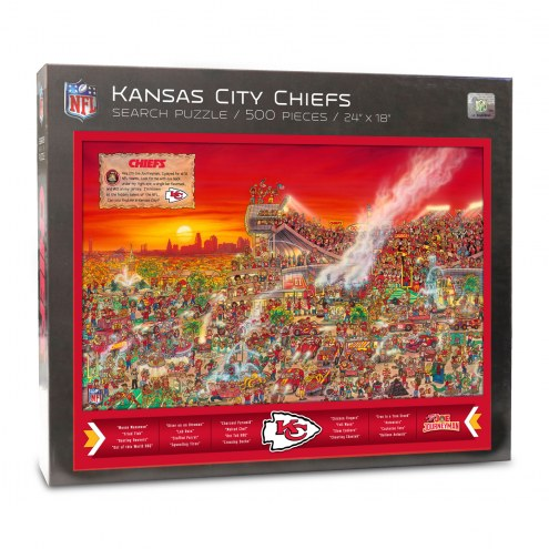 Kansas City Chiefs Joe Journeyman Puzzle