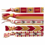 Kansas City Chiefs Knotted Hair Tie