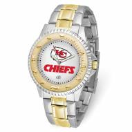 Kansas City Chiefs Competitor Two-Tone Men's Watch